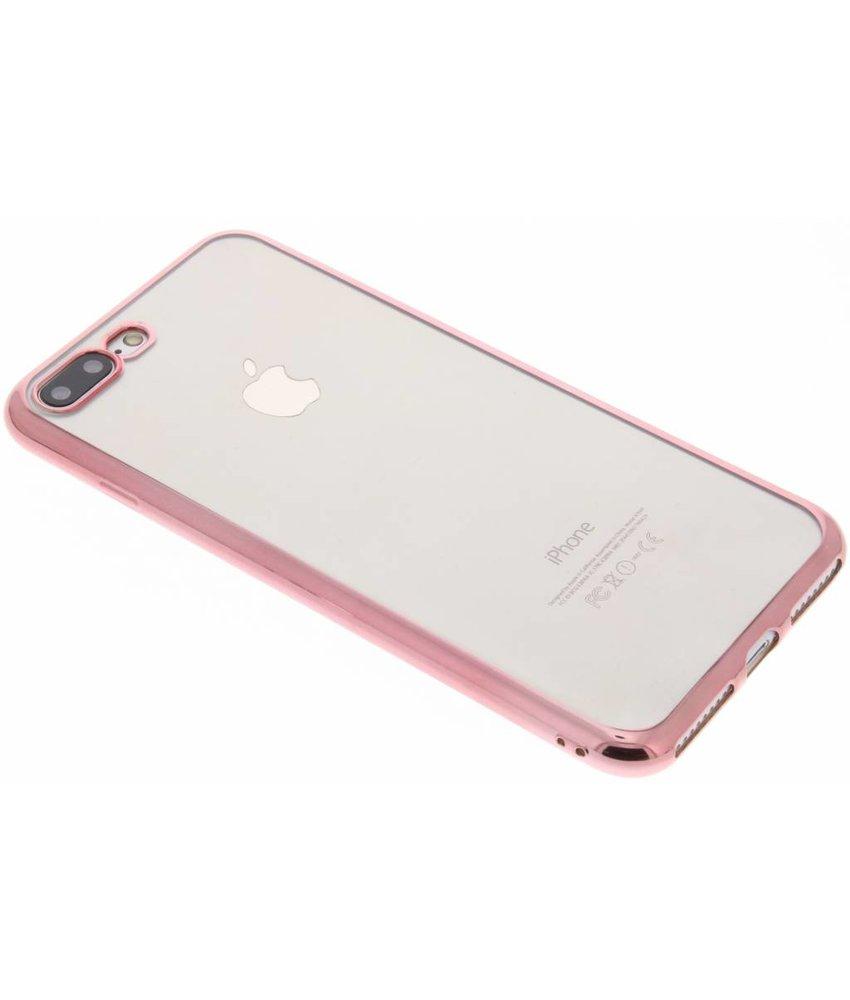 TPU hoesje met metallic rand iPhone 8 Plus / 7 Plus