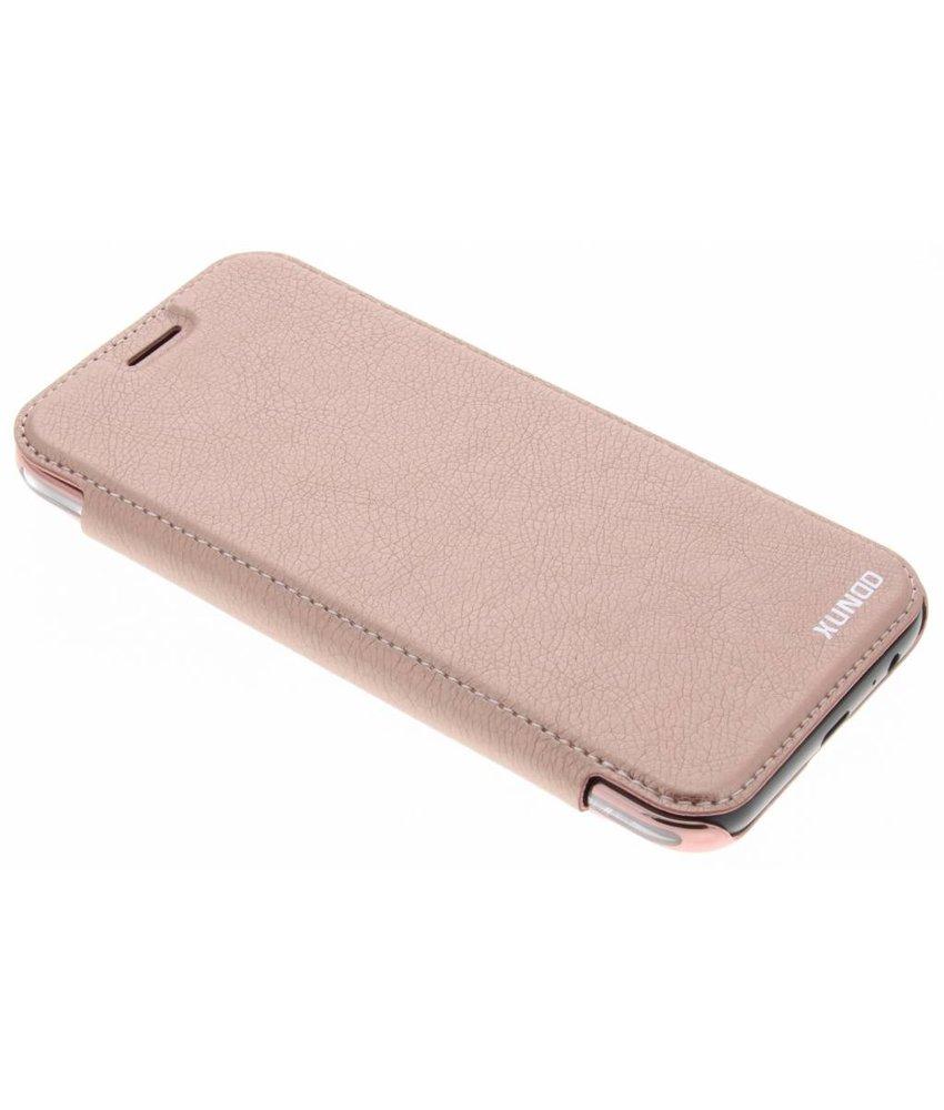 Rosé goud crystal slim book case Samsung Galaxy A5 (2017)
