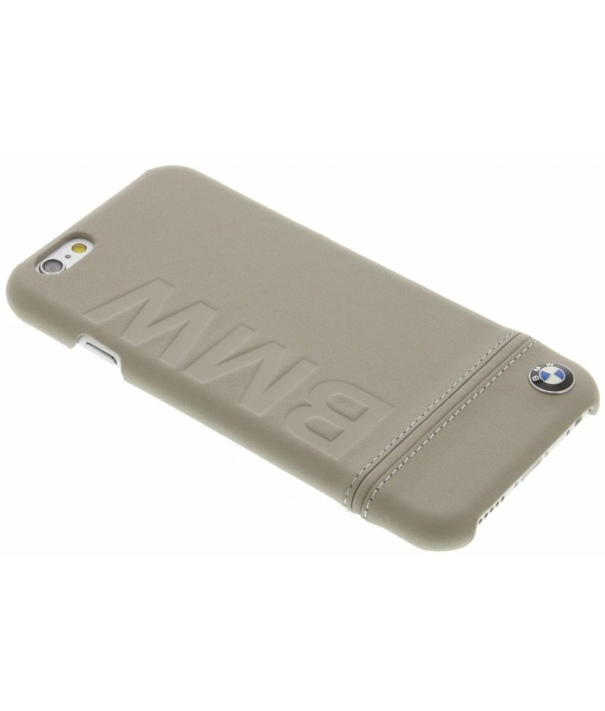 BMW Real Leather Hard Case iPhone 6 / 6s