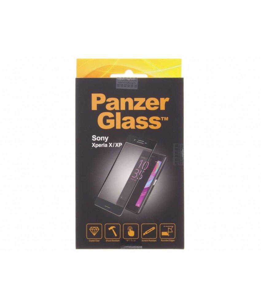 PanzerGlass Premium Screenprotector Sony Xperia X - Black