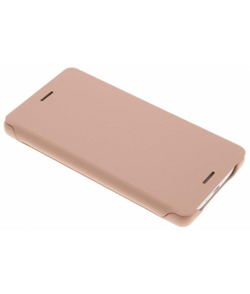 Sony Style Flip Cover Xperia X - Rosé Goud
