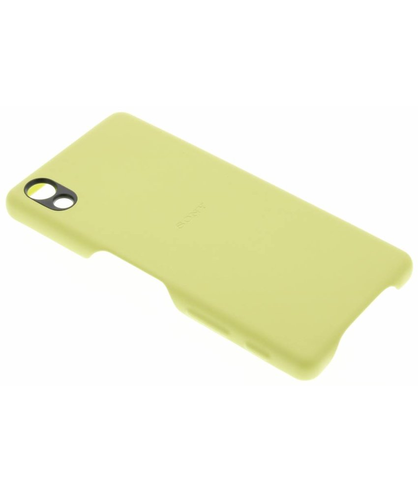 Sony Style Back Cover Xperia X - Geel