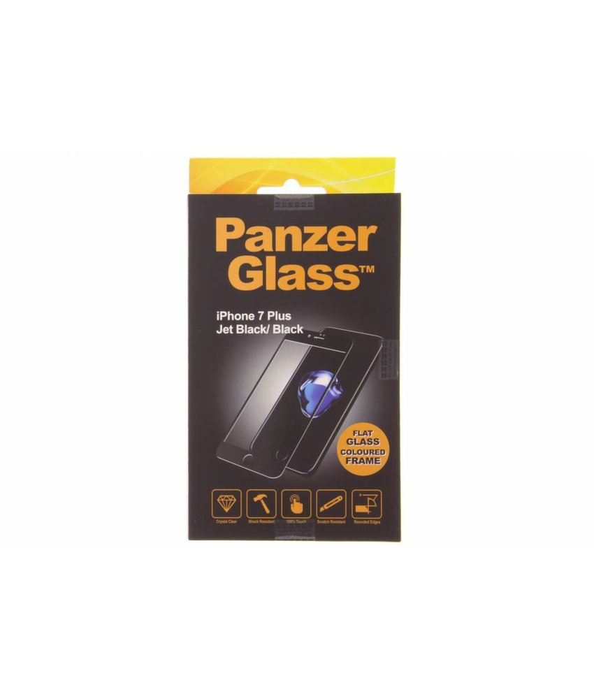 PanzerGlass Zwart Premium Screenprotector iPhone 7 Plus