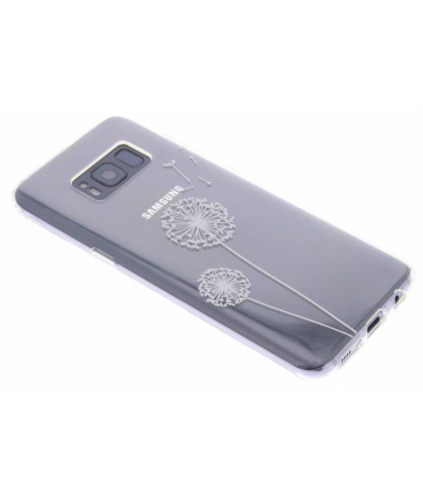 Transparant festival TPU hoesje Samsung Galaxy S8