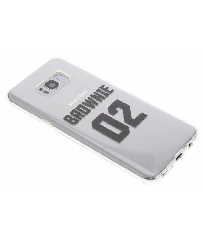 Brownie TPU hoesje Samsung Galaxy S8 Plus