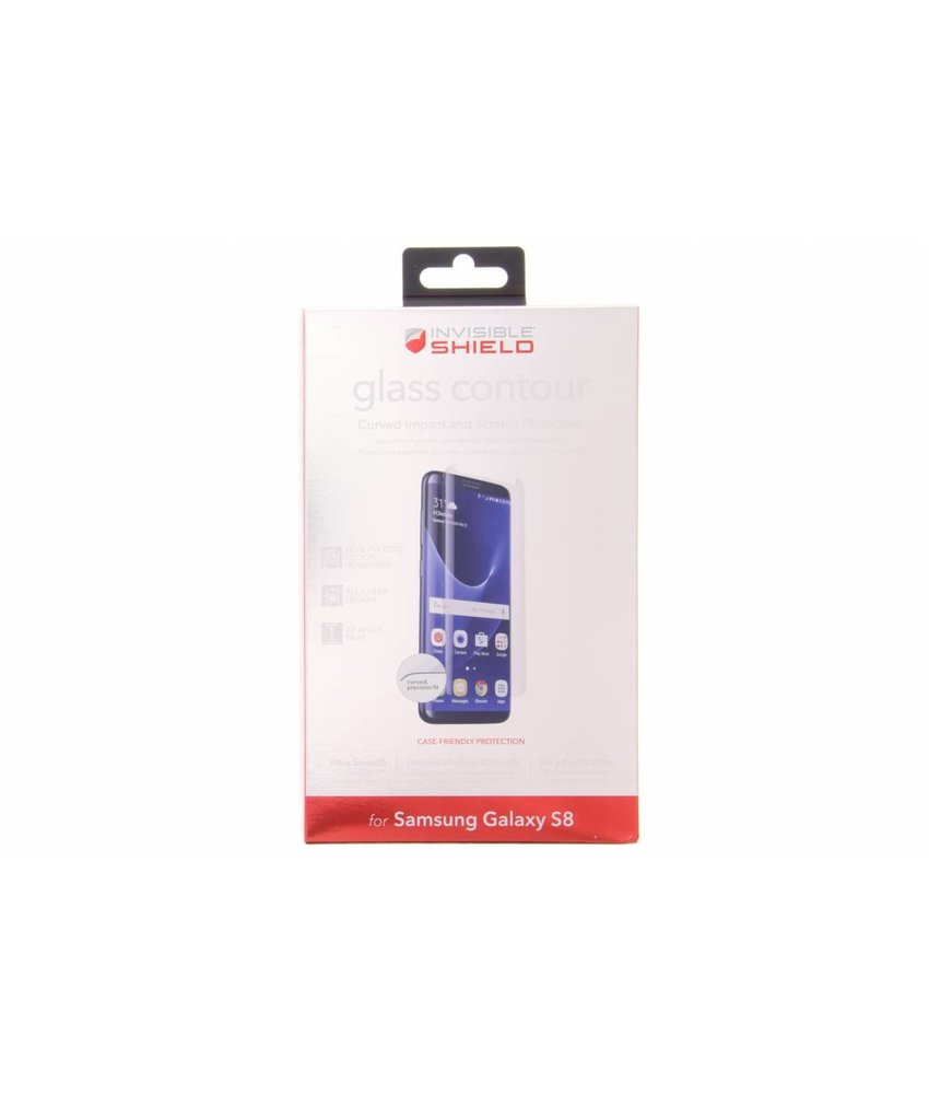 ZAGG Glass Contour screenprotector Samsung Galaxy S8