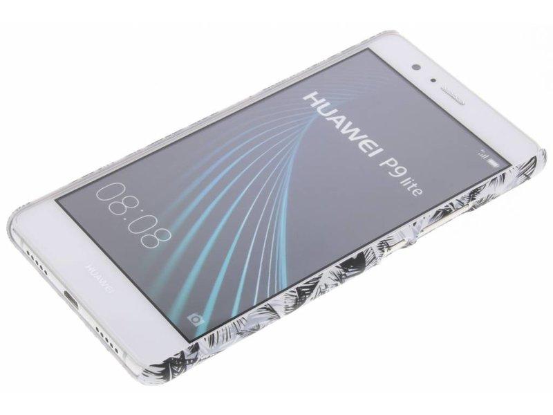 Huawei P9 Lite hoesje - Palmtrees design hardcase hoesje