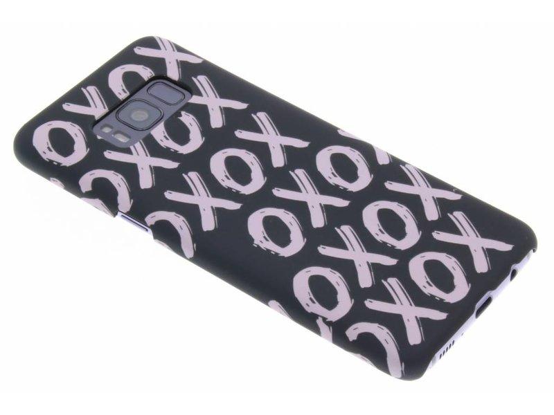 Samsung Galaxy S8 hoesje - Xoxo design hardcase hoesje