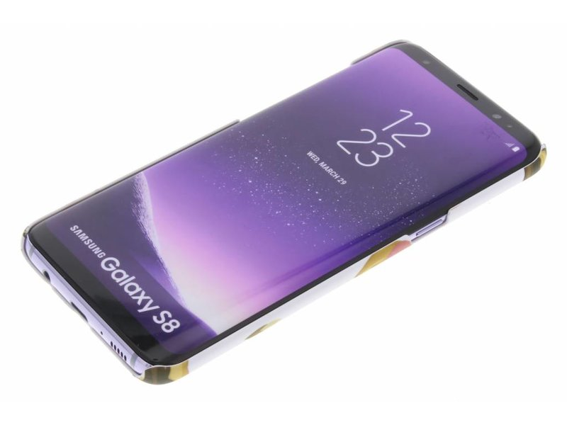 Samsung Galaxy S8 hoesje - Donut design hardcase hoesje