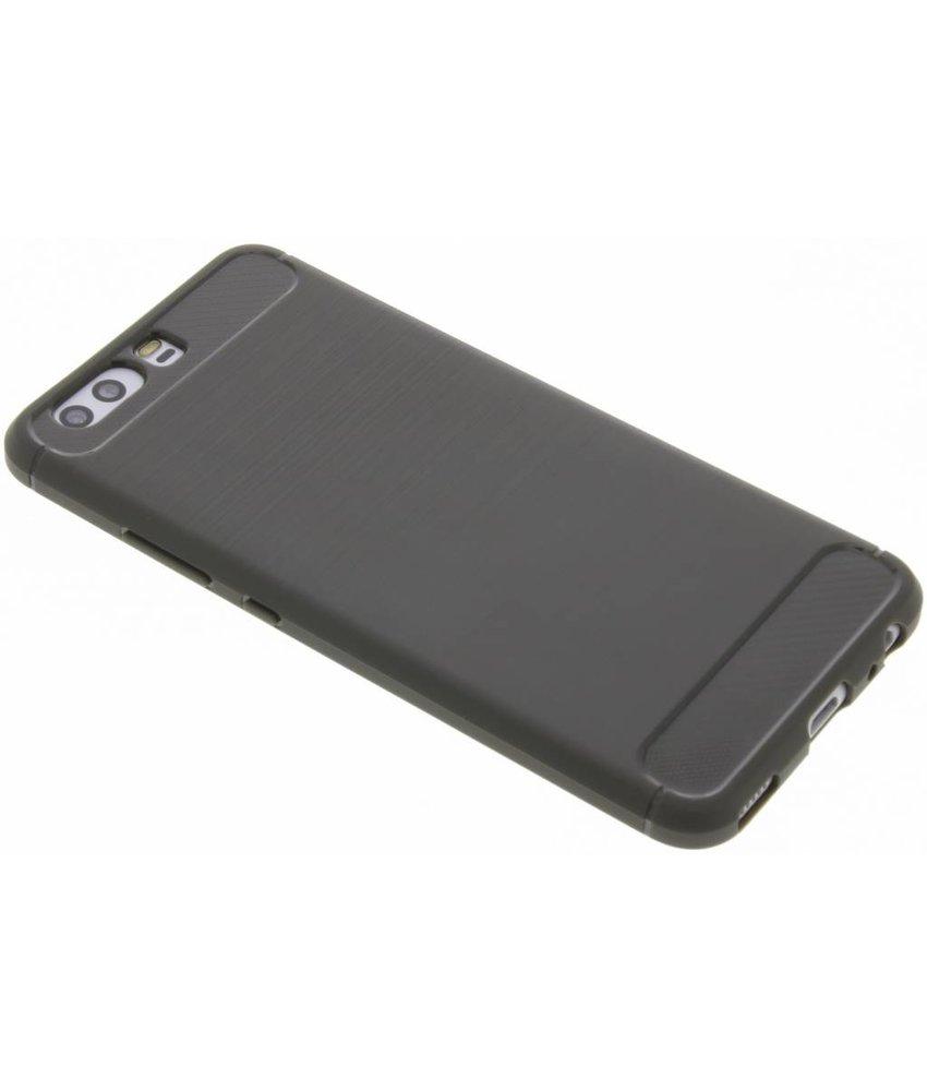 Grijs Brushed TPU case Huawei P10