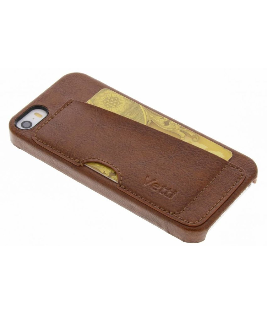 Vetti Craft Card Slot Snap Cover iPhone 5S / 5 / SE