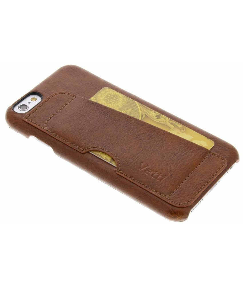 Vetti Craft Bruin Card Slot Snap Cover iPhone 6 / 6s
