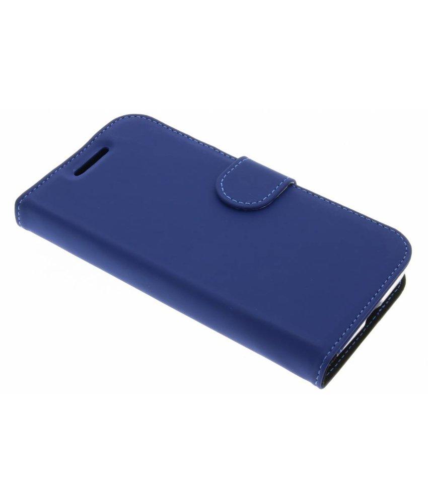 Accezz Blauw Wallet TPU Booklet Motorola Moto G4 Play