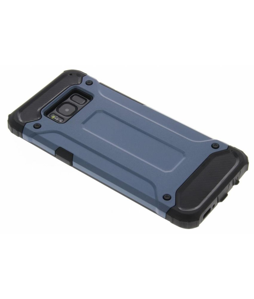 Donkerblauw Rugged Xtreme Case Samsung Galaxy S8