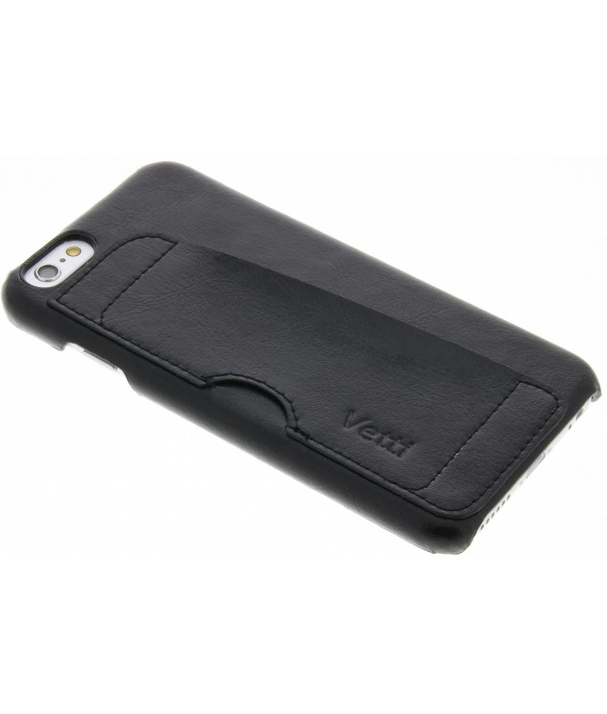 Vetti Craft Zwart Card Slot Snap Cover iPhone 6 / 6s