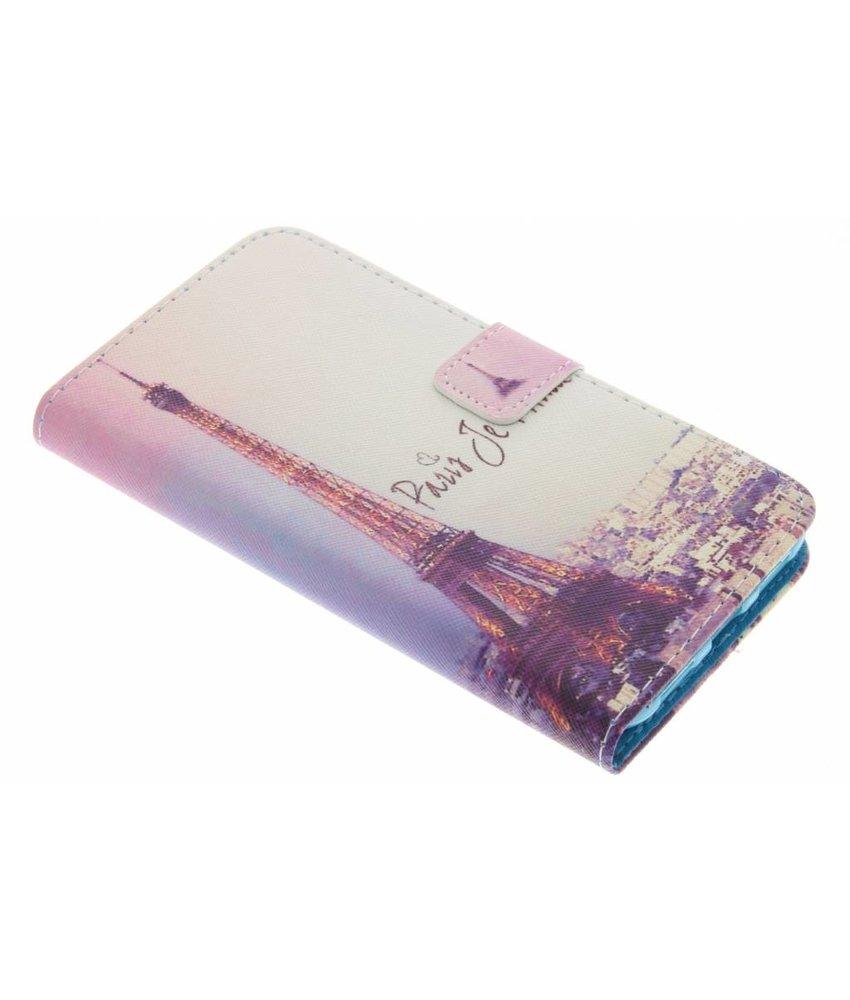 Design TPU booktype hoes Huawei P8 Lite (2017)