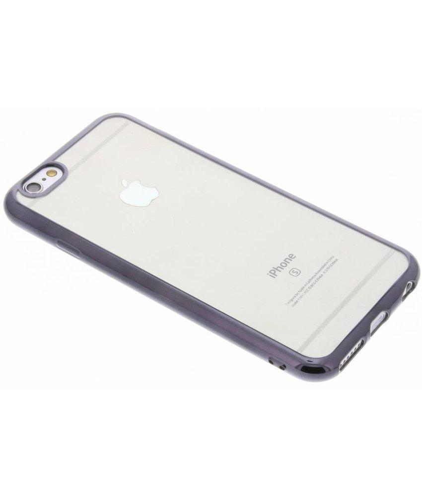 TPU hoesje met metallic rand iPhone 6 / 6s
