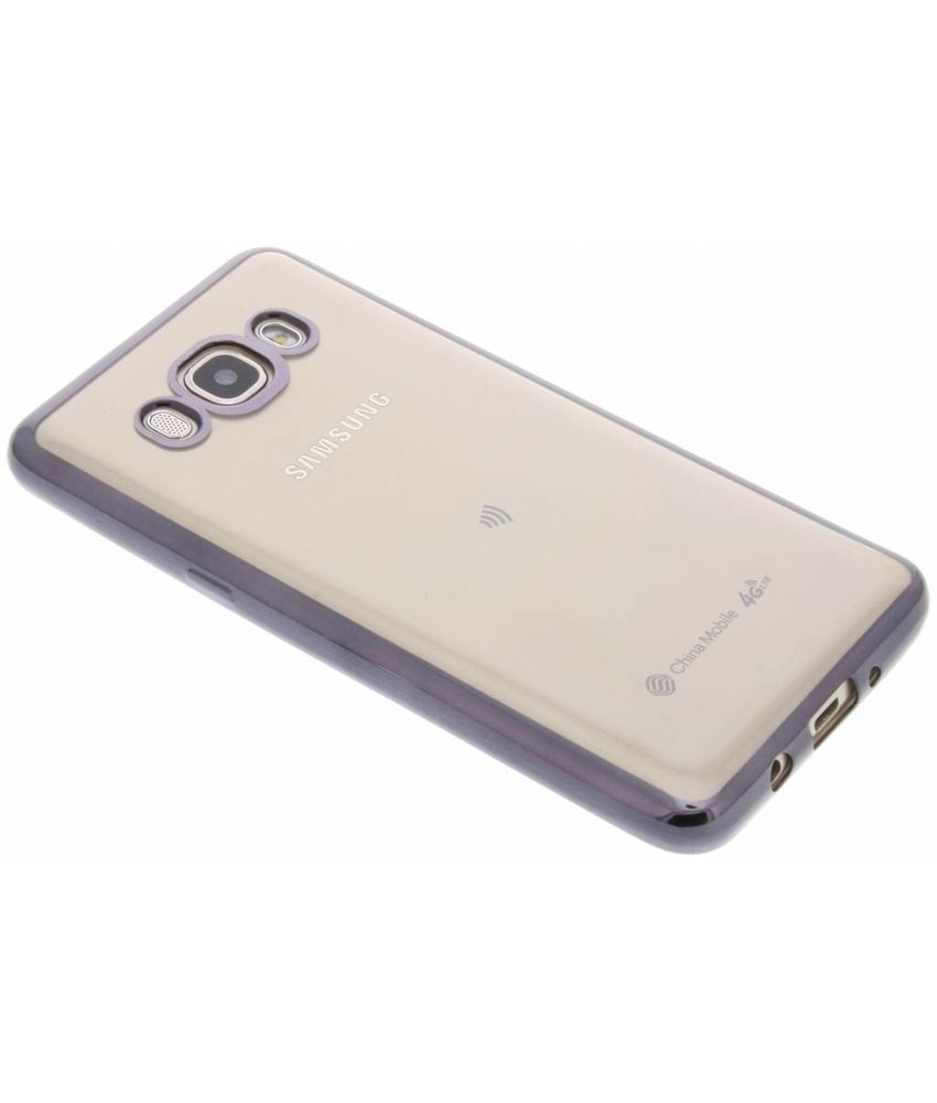 TPU hoesje met metallic rand Samsung Galaxy J5 (2016)