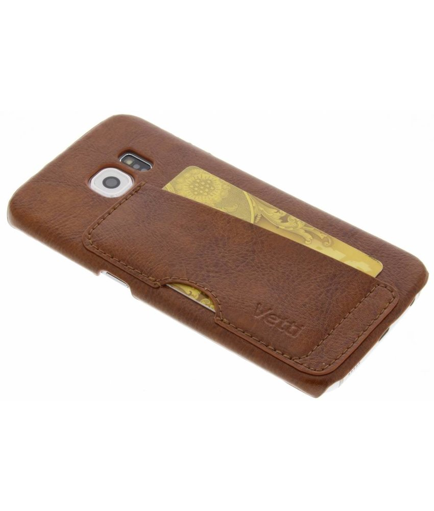Vetti Craft Card Slot Snap Cover Samsung Galaxy S6 Edge