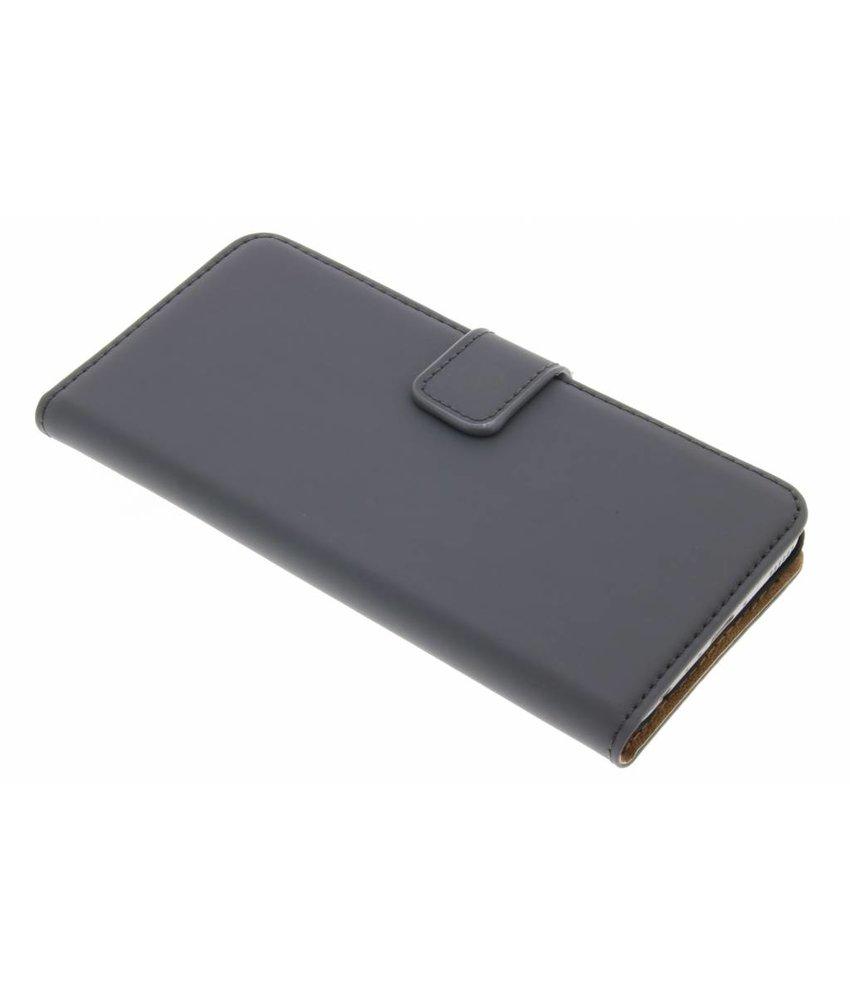 Selencia Grijs Luxe Book Case Huawei P10