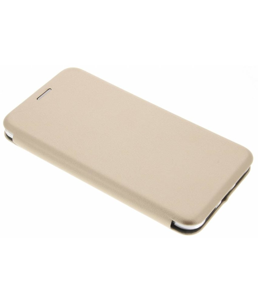 Goud Slim Foliocase Huawei P8 Lite (2017)