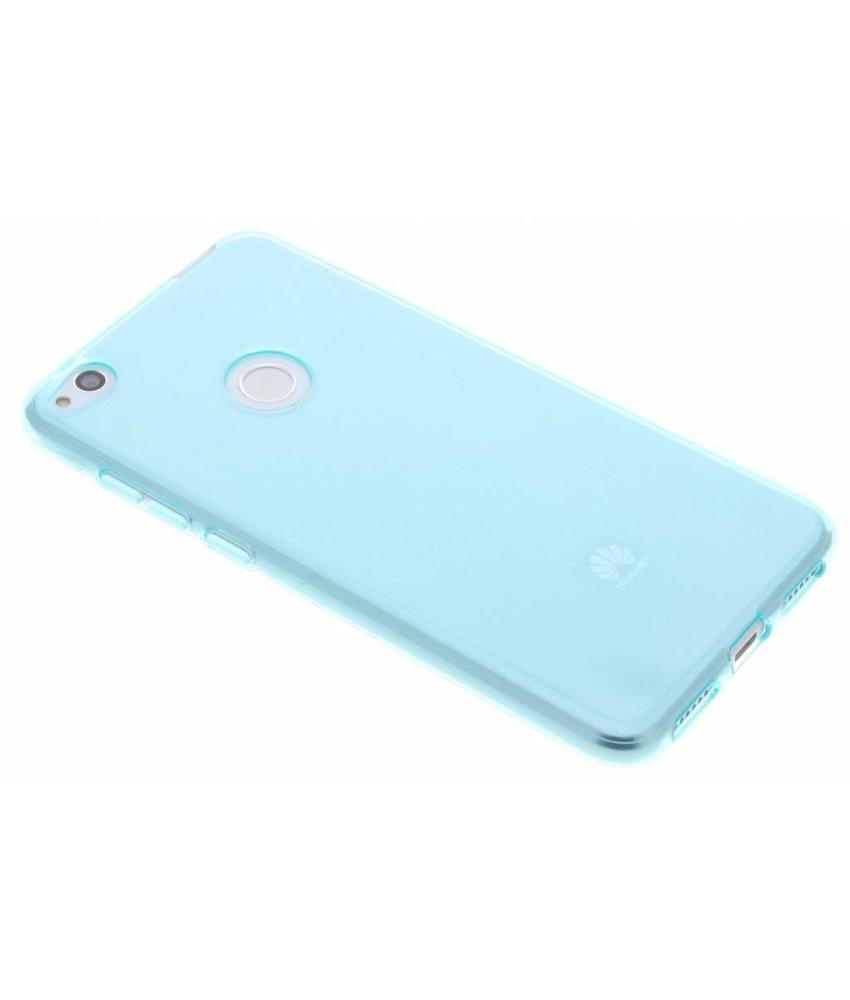 Turquoise transparant gel case Huawei P8 Lite (2017)