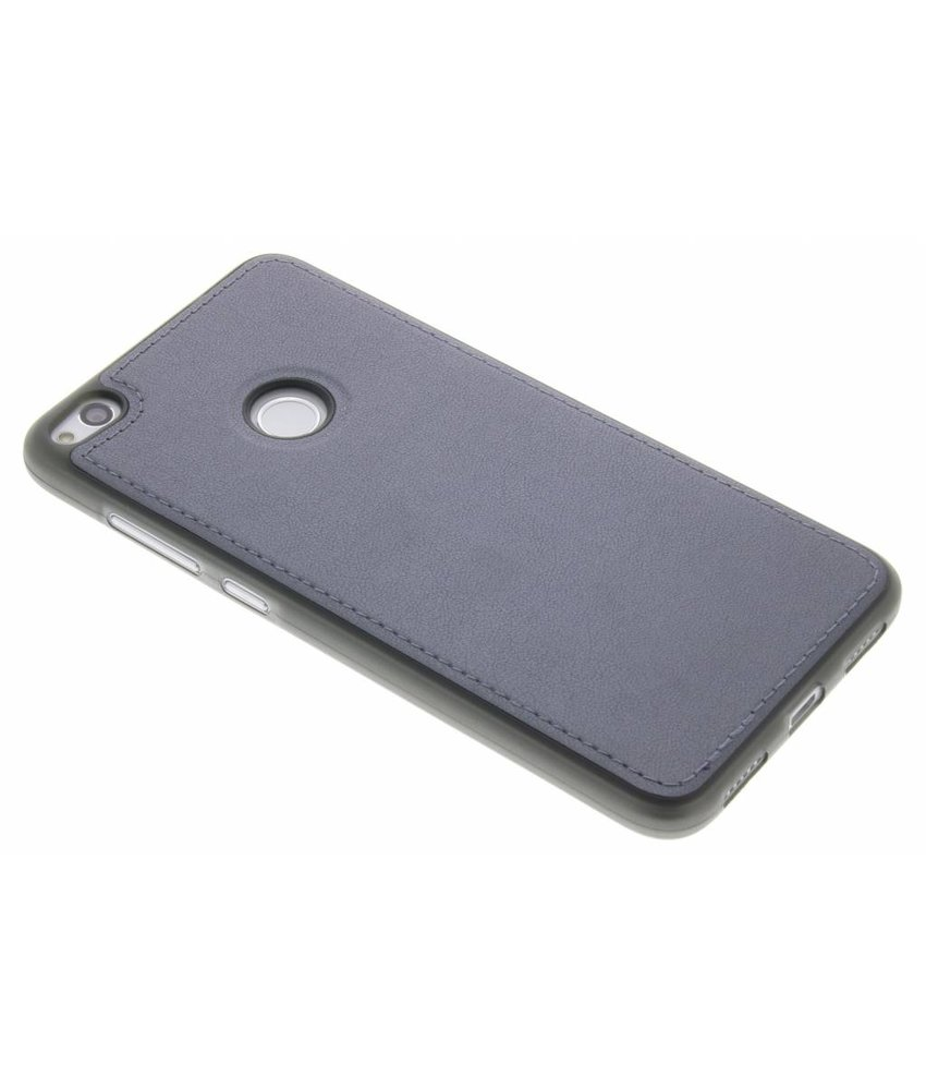 Grijs Lederen TPU case Huawei P8 Lite (2017)
