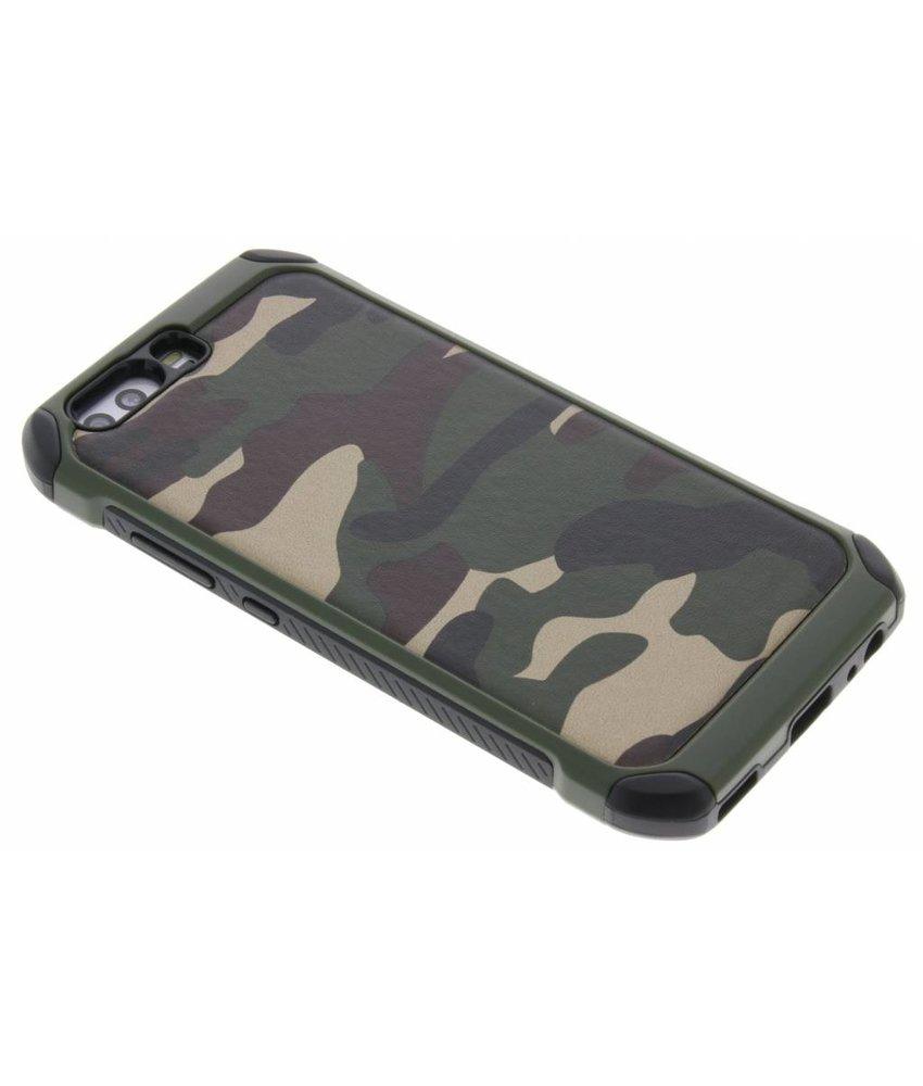 Groen army defender hardcase hoesje Huawei P10