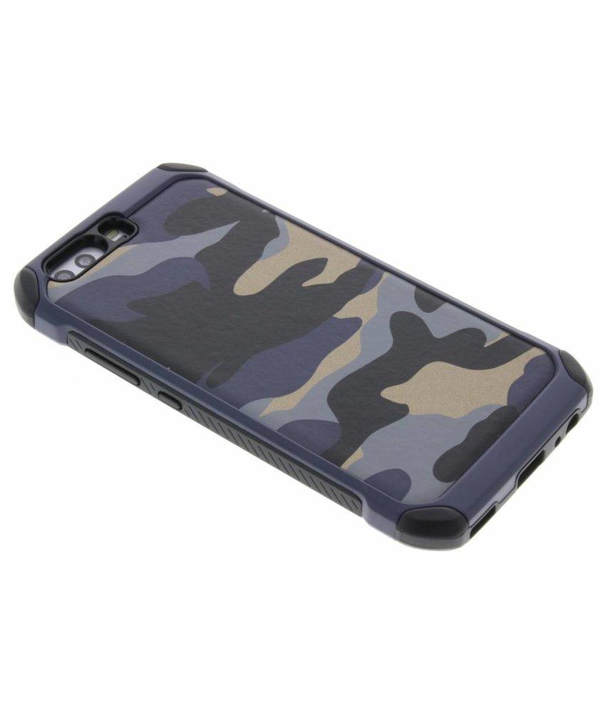 Blauw army defender hardcase hoesje Huawei P10