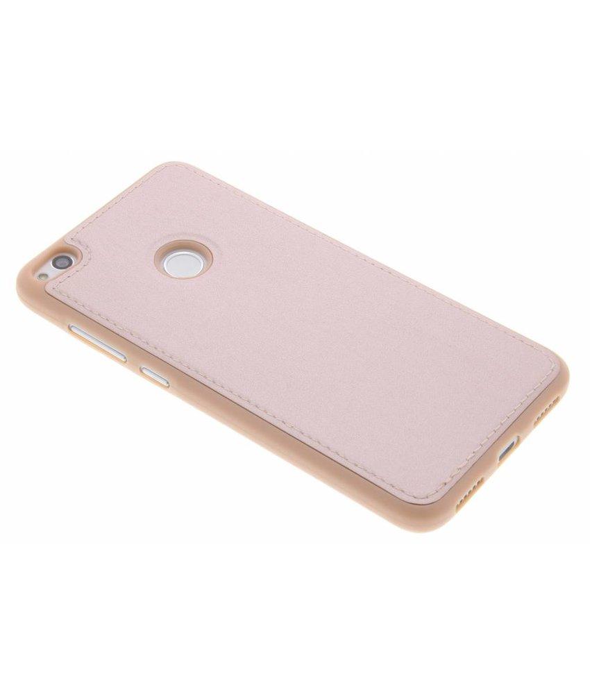 Lederen TPU case Huawei P8 Lite (2017) / P9 Lite (2017)