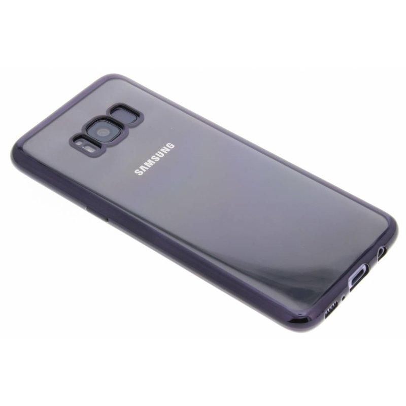 Fonex Zwart Sparkling Soft Case Samsung Galaxy S8