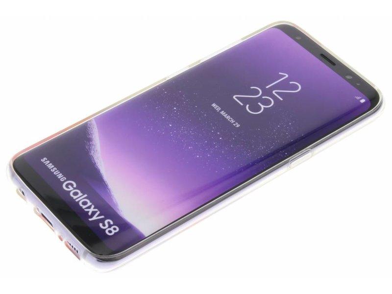 Samsung Galaxy S8 hoesje - Flavr Witte Real Flower