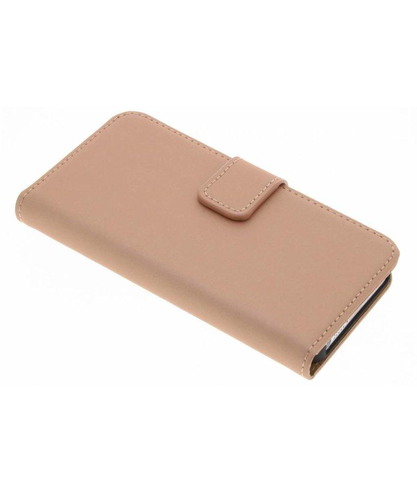 Selencia Rosé Goud Luxe Book Case iPhone 5 / 5s / SE