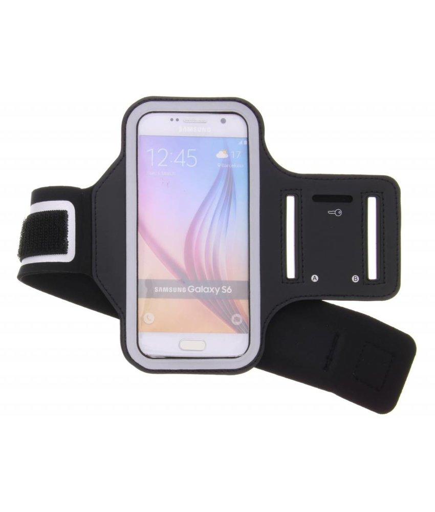 Zwart sportarmband Samsung Galaxy S6 / S6 Edge