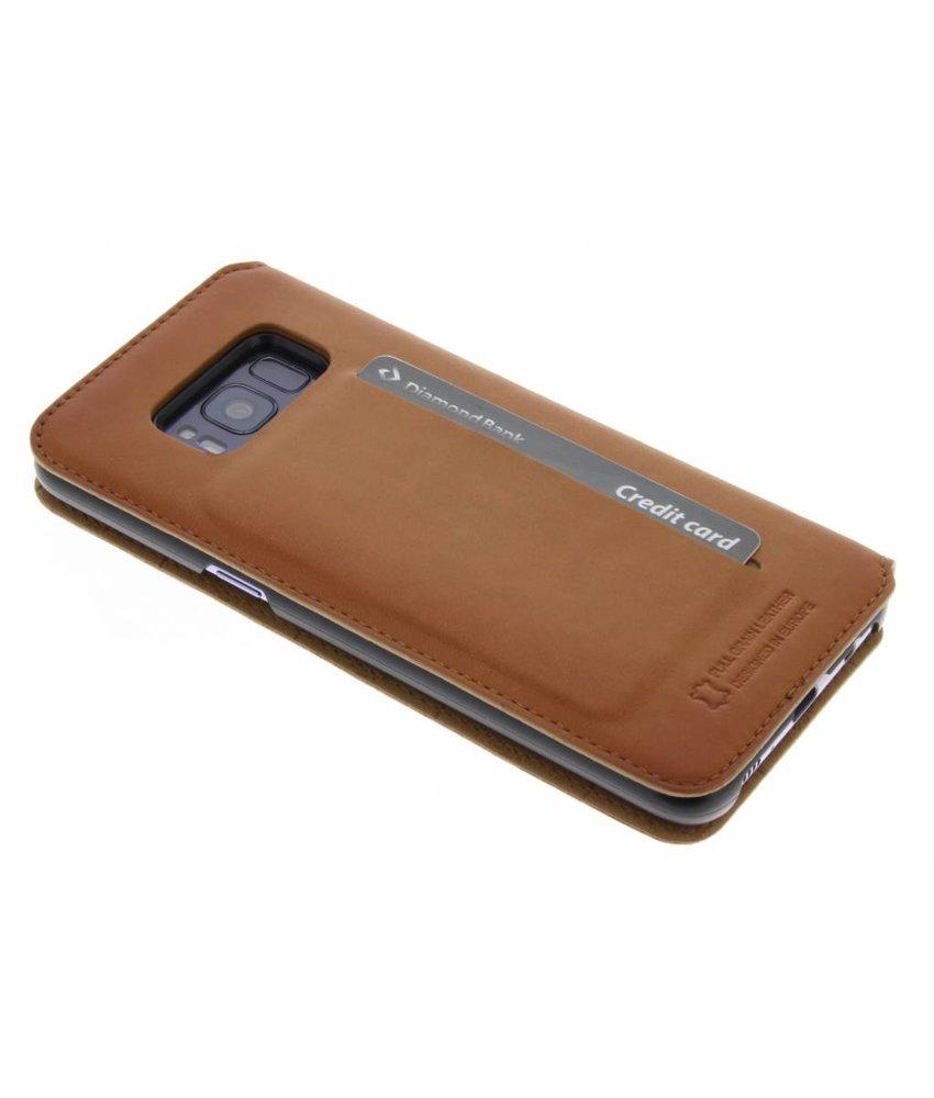Bugatti Bruin Parigi Booklet Case Samsung Galaxy S8