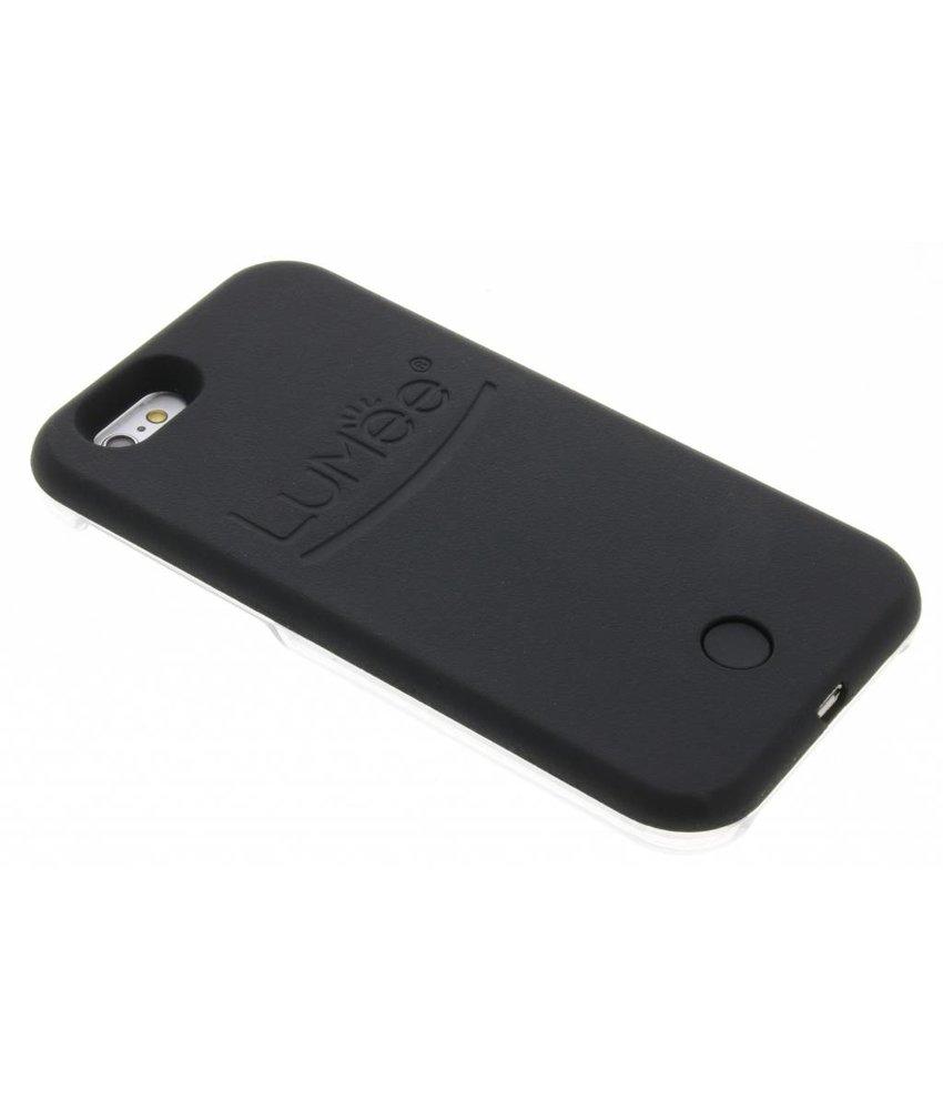LuMee Zwart Lighted Hard Case iPhone 6 / 6s