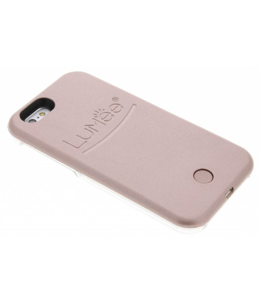 LuMee Rosé Goud Lighted Hard Case iPhone 6 / 6s