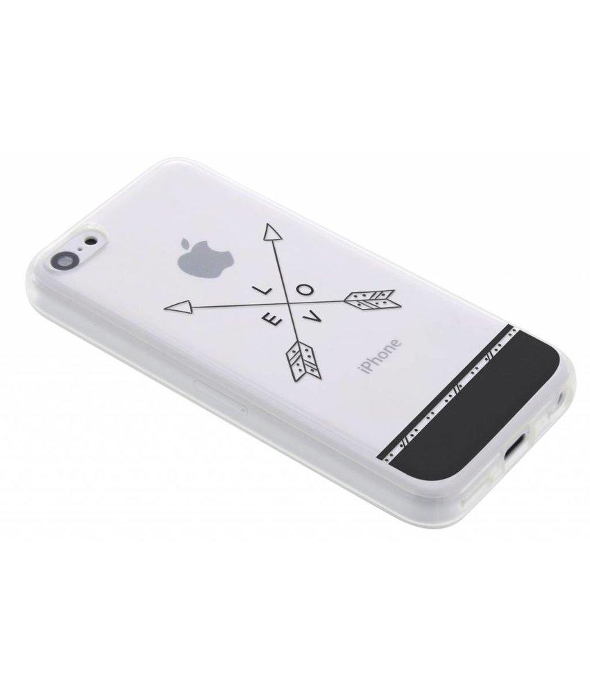 Transparant festival TPU hoesje iPhone 5c