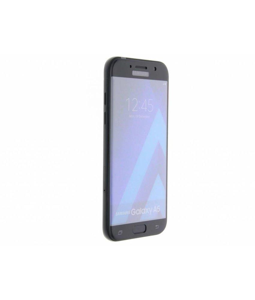 Zwart gehard glas screenprotector Samsung Galaxy A5 (2017)