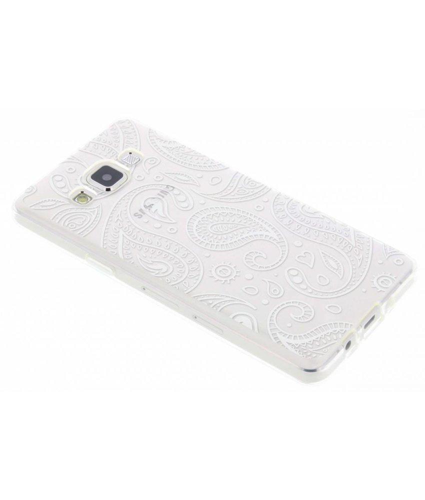 Transparant festival TPU hoesje Samsung Galaxy A5