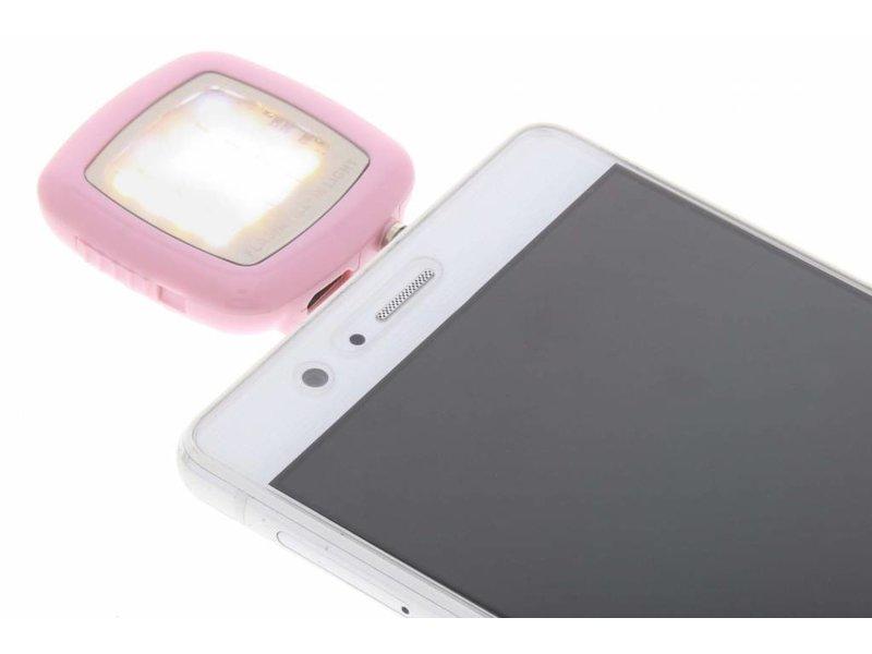 Roze Selfie Led-licht voor smartphones