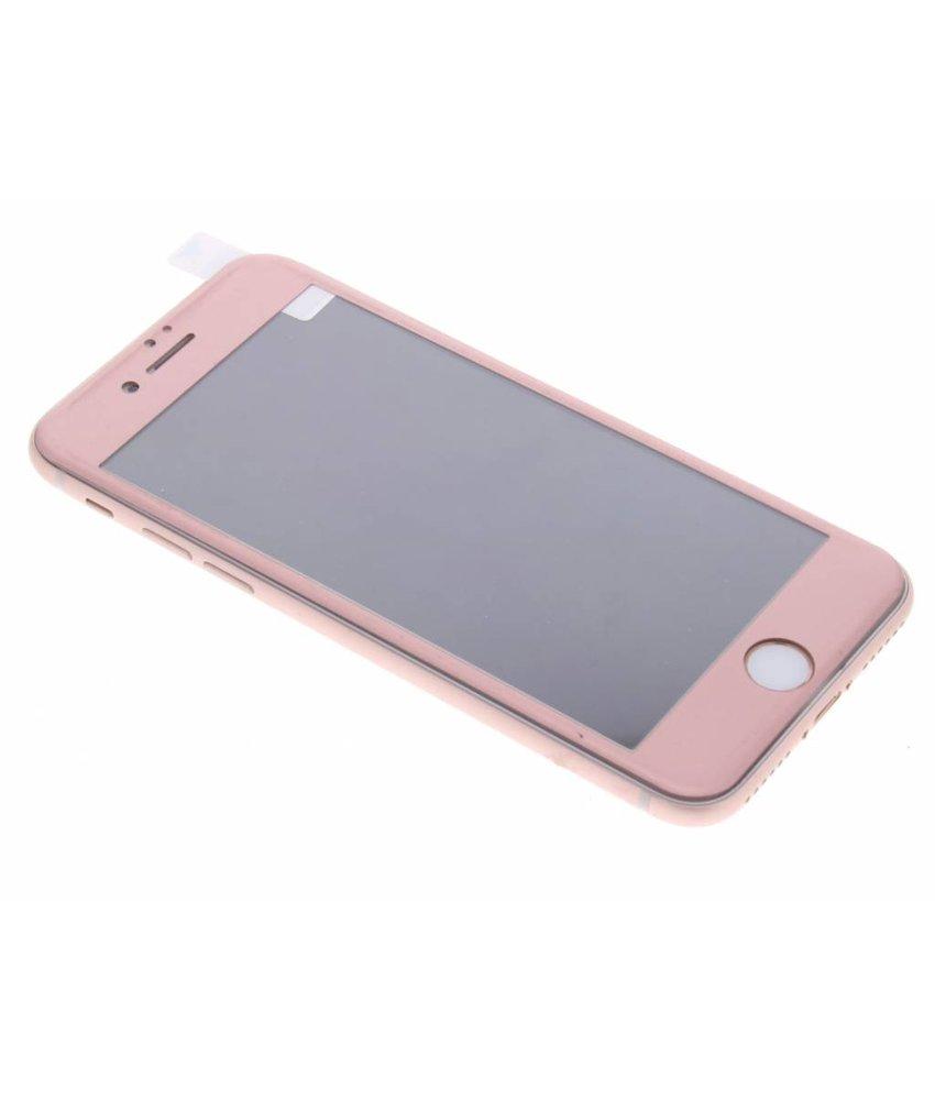 Rosé goud gehard glas screenprotector iPhone 8 / 7