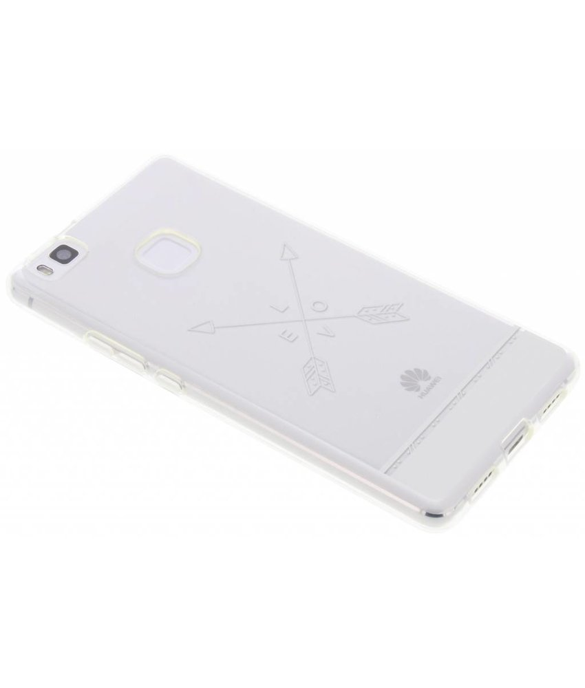 Transparant festival TPU hoesje Huawei P9 Lite