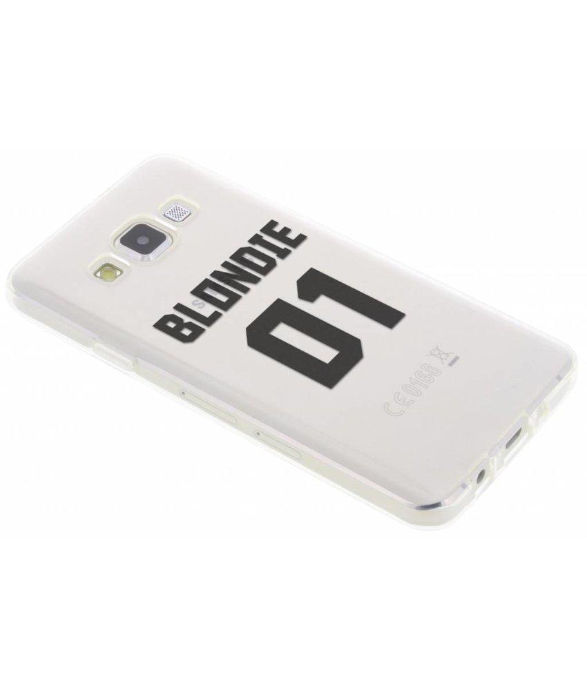 Blondie TPU hoesje Samsung Galaxy A3