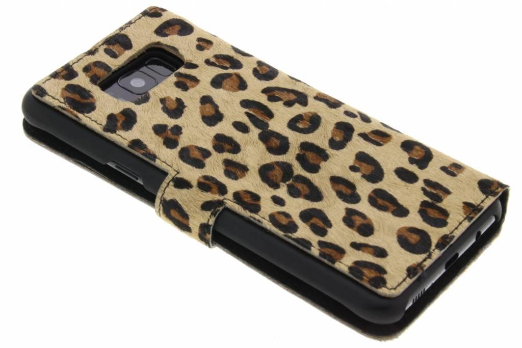 Froussard Cas De Type Livre De Panthère Pour Samsung Galaxy S8 ANABU
