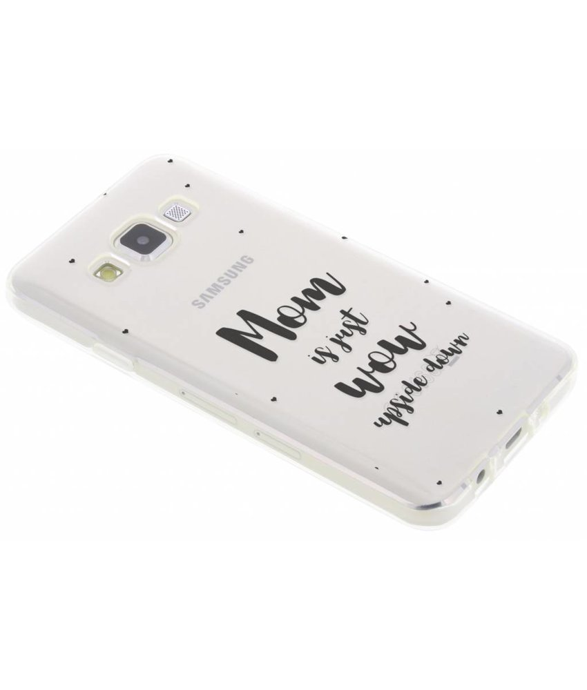 Quote design TPU hoesje Samsung Galaxy A3