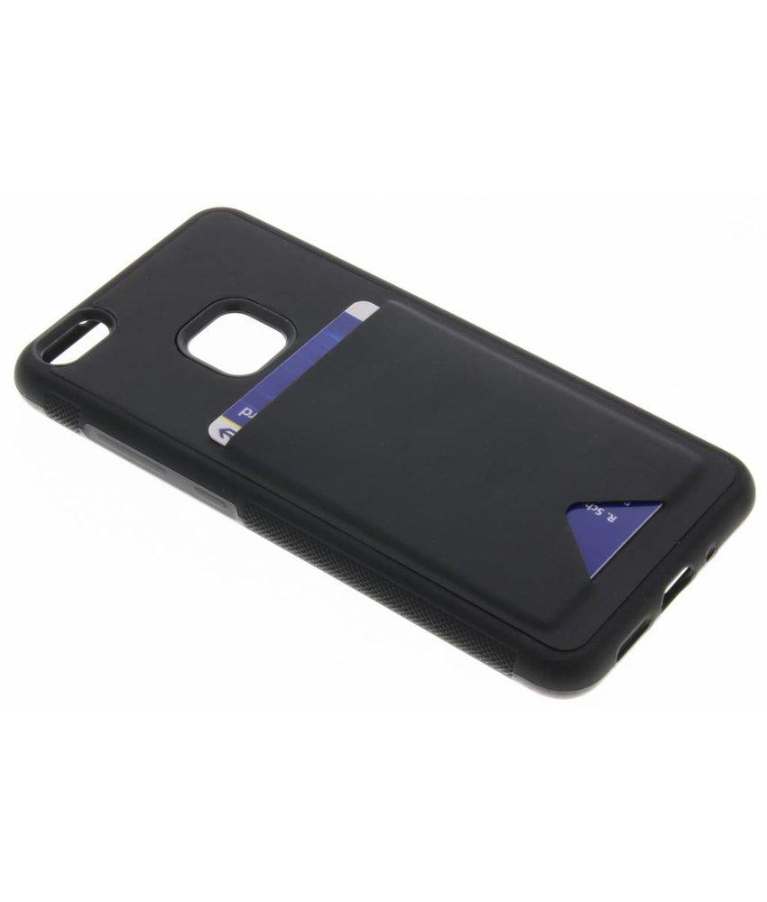 Dux Ducis Zwart Cardslot Hardcase Huawei P10 Lite