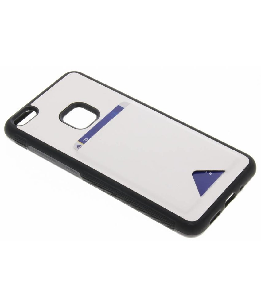 Dux Ducis Wit Cardslot Hardcase Huawei P10 Lite