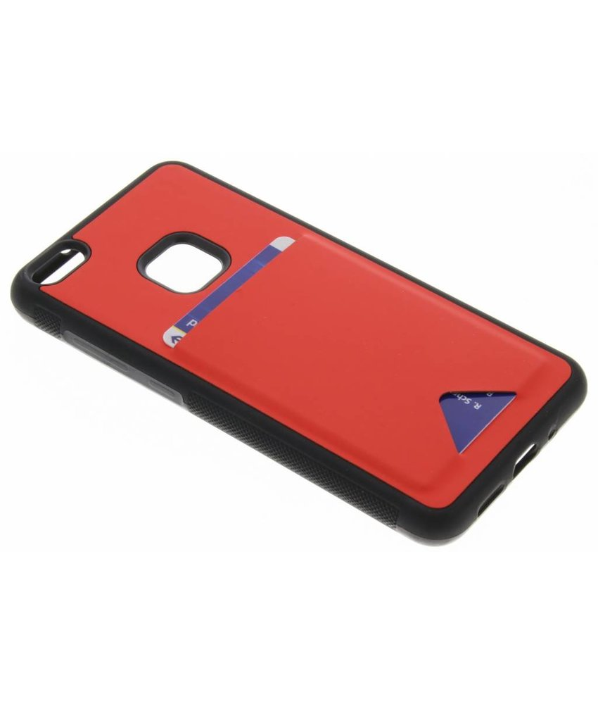 Dux Ducis Rood Cardslot Hardcase Huawei P10 Lite