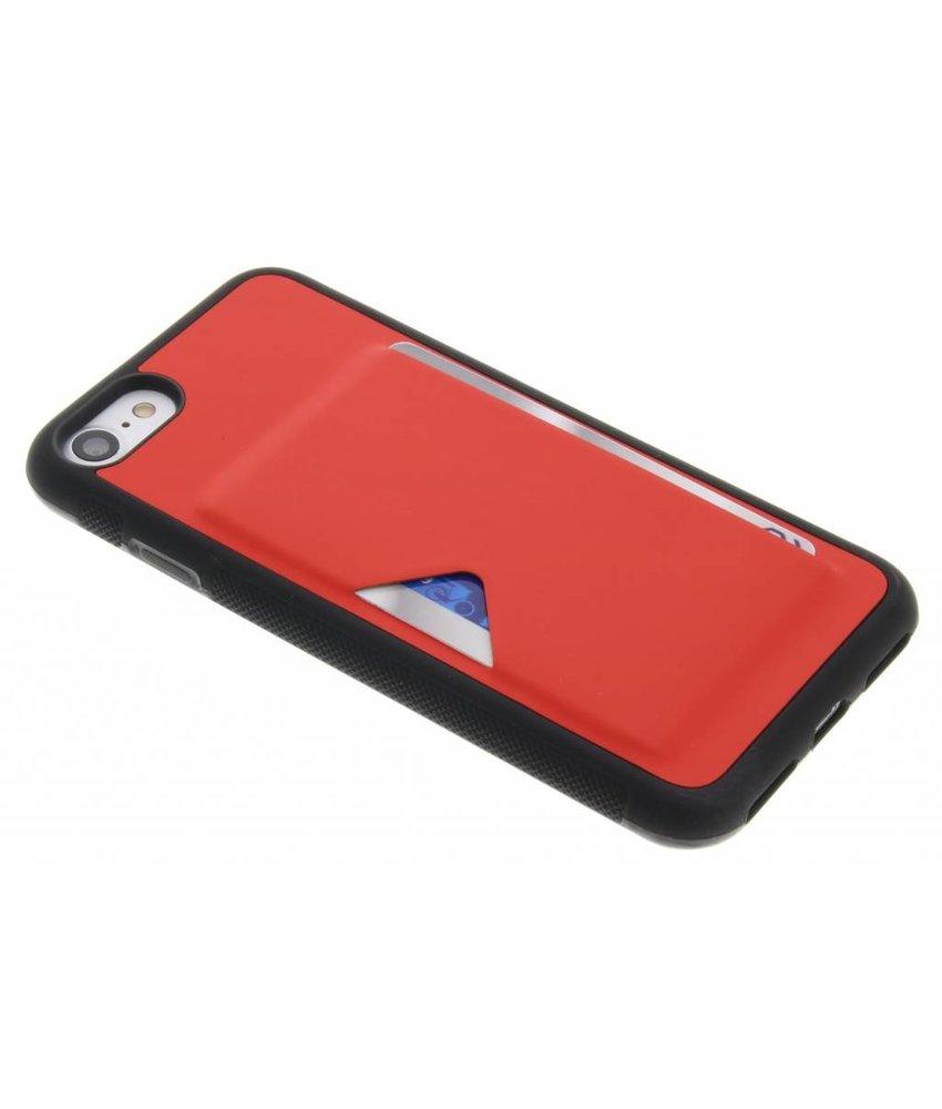 Dux Ducis Rood Cardslot Hardcase iPhone 8 / 7
